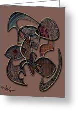 Abstract Works Greeting Card