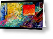 Abstract1 Greeting Card
