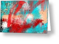 Abstract25 Greeting Card