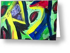 Abstract3 Greeting Card