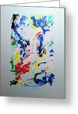 Abstraction 1 Greeting Card