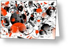 Abstraction 1109 Greeting Card