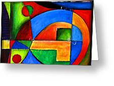 Abstraction 1723 Greeting Card