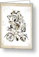 Abstraction 1959 Greeting Card