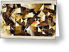 Abstraction 2398 Greeting Card