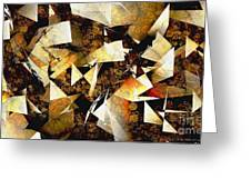 Abstraction 2399 Greeting Card