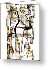Abstraction 2430 Greeting Card