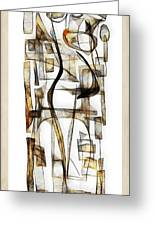 Abstraction 2431 Greeting Card