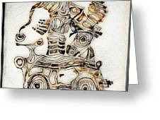 Abstraction 2808 Greeting Card