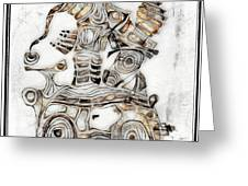 Abstraction 2812 Greeting Card