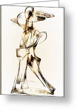 Abstraction 2913 Greeting Card