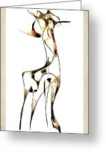 Abstraction 2919 Greeting Card