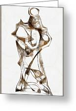 Abstraction 2924 Greeting Card