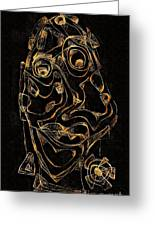 Abstraction 2979 Greeting Card