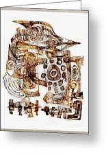 Abstraction 3052 Greeting Card