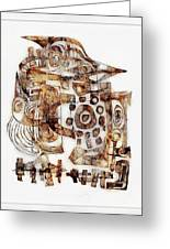 Abstraction 3053 Greeting Card