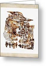 Abstraction 3055 Greeting Card