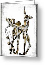 Abstraction 3091 Greeting Card