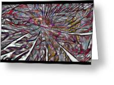 Abstraction 3097 Greeting Card