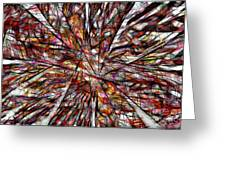 Abstraction 3098 Greeting Card