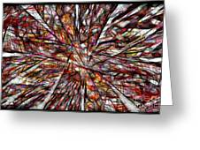 Abstraction 3100 Greeting Card
