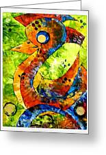Abstraction 3199 Greeting Card