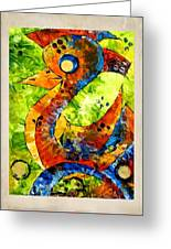 Abstraction 3200 Greeting Card