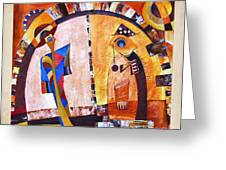 Abstraction 3219 Greeting Card