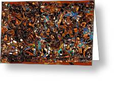 Abstraction 3374 Greeting Card