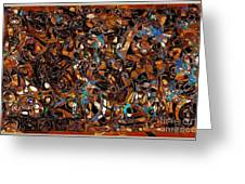 Abstraction 3375 Greeting Card