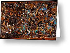 Abstraction 3376 Greeting Card