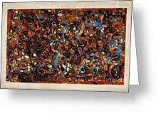 Abstraction 3377 Greeting Card