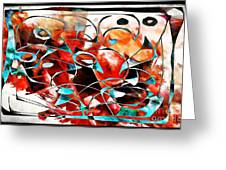 Abstraction 3424 Greeting Card