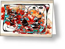 Abstraction 3426 Greeting Card