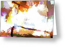 Abstraction #37 Greeting Card
