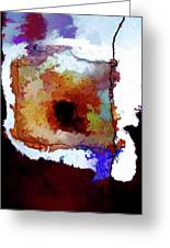 Abstraction #39 Greeting Card