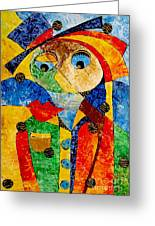 Abstraction 770 - Marucii Greeting Card