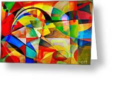 Abstraction 776 - Marucii Greeting Card