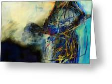 Abstraction 786 - Marucii Greeting Card