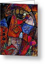 Abstraction 858 -marucii Greeting Card