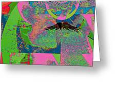 Abstraction Of A New World Greeting Card