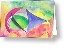 Abstracto Greeting Card