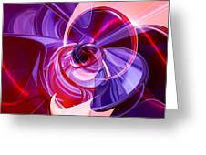 Abstractum Greeting Card