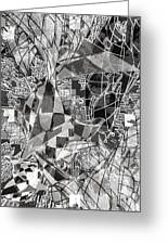 pERMEABLE aBSTRACTION  Greeting Card