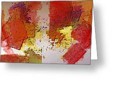 Abstrakt In Serie Greeting Card