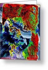 Abstral Visual She Greeting Card