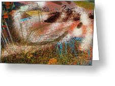 Abstrato 14 Greeting Card