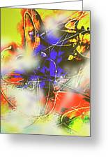 Abstrato Zzzm Greeting Card