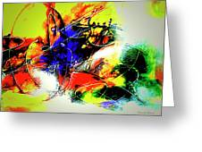 Abstrato Zzzo Greeting Card