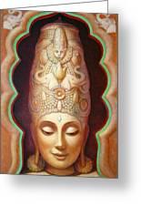 Abundance Meditation Greeting Card by Sue Halstenberg